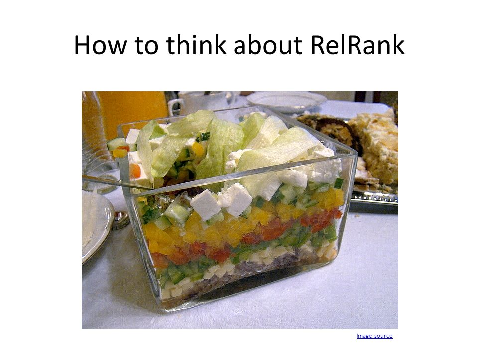 How to think about RelRank Image source
