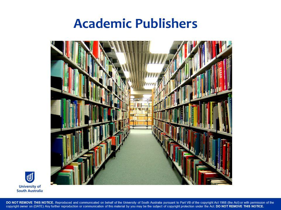 Academic Publishers