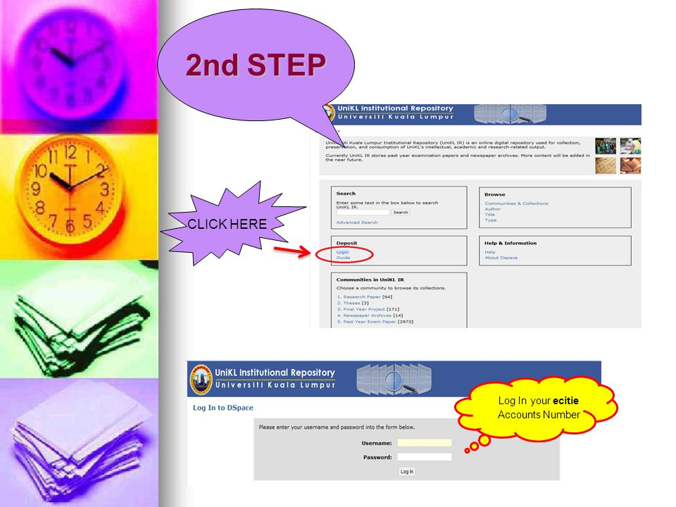 2nd STEP CLICK HERE Log In your ecitie Accounts Number
