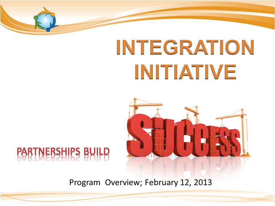 Program Overview; February 12, 2013