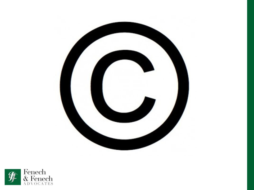 COPYRIGHT Gives the creator of a work exclusive rights over that work.