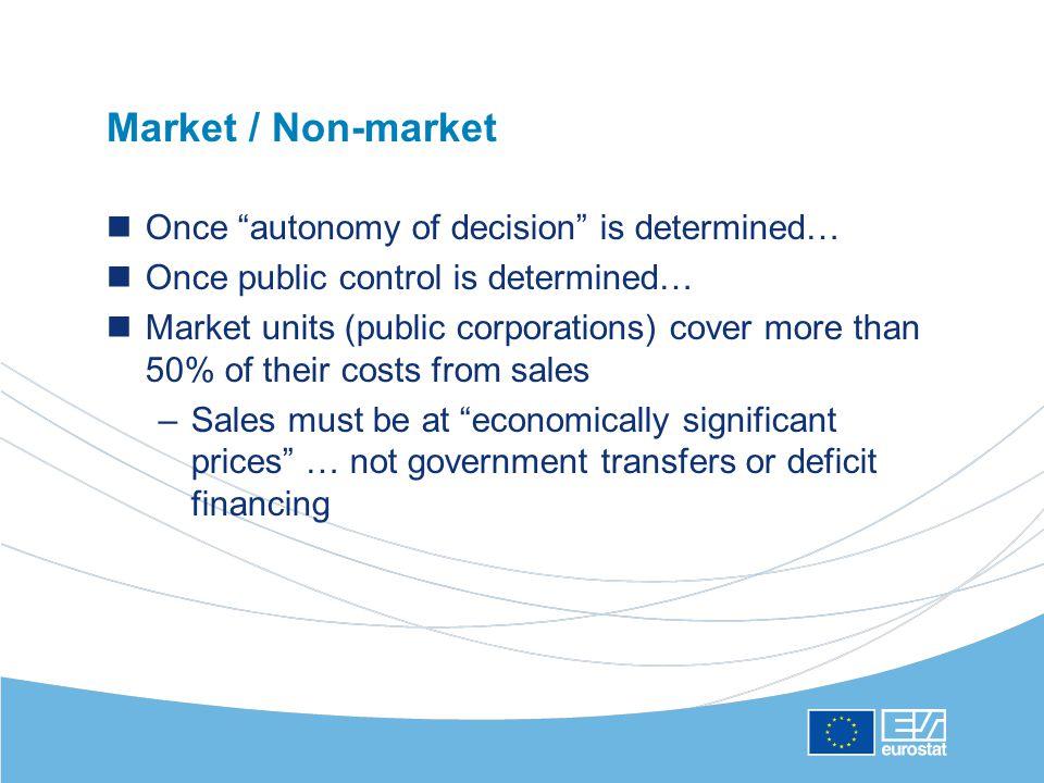 Non-financial and financial transactions Non-financial transactions ( above the line )…direct deficit impact –e.g.