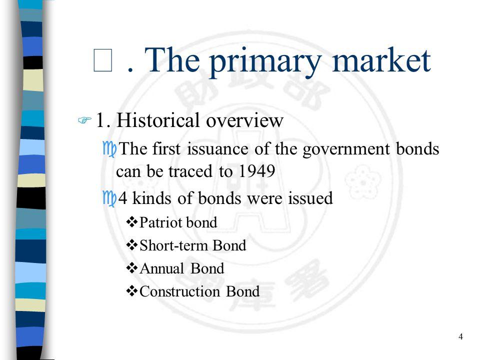 15 n Bonds & Stocks market trading volume