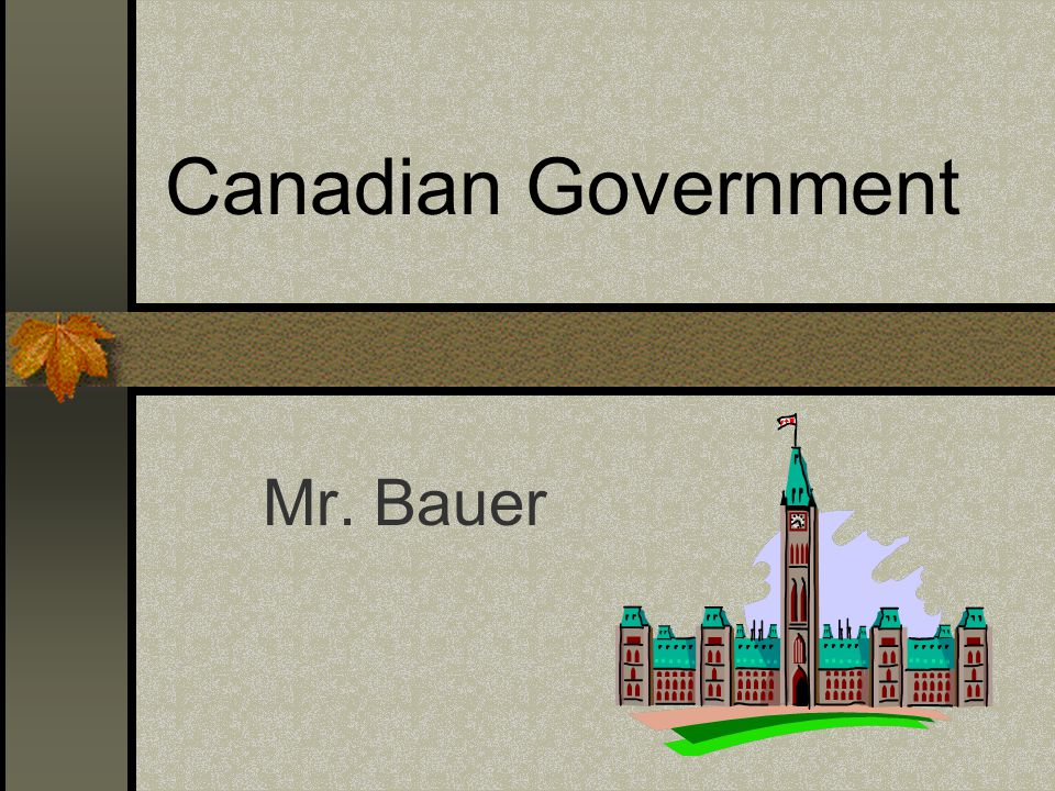 Structure of Federal Government