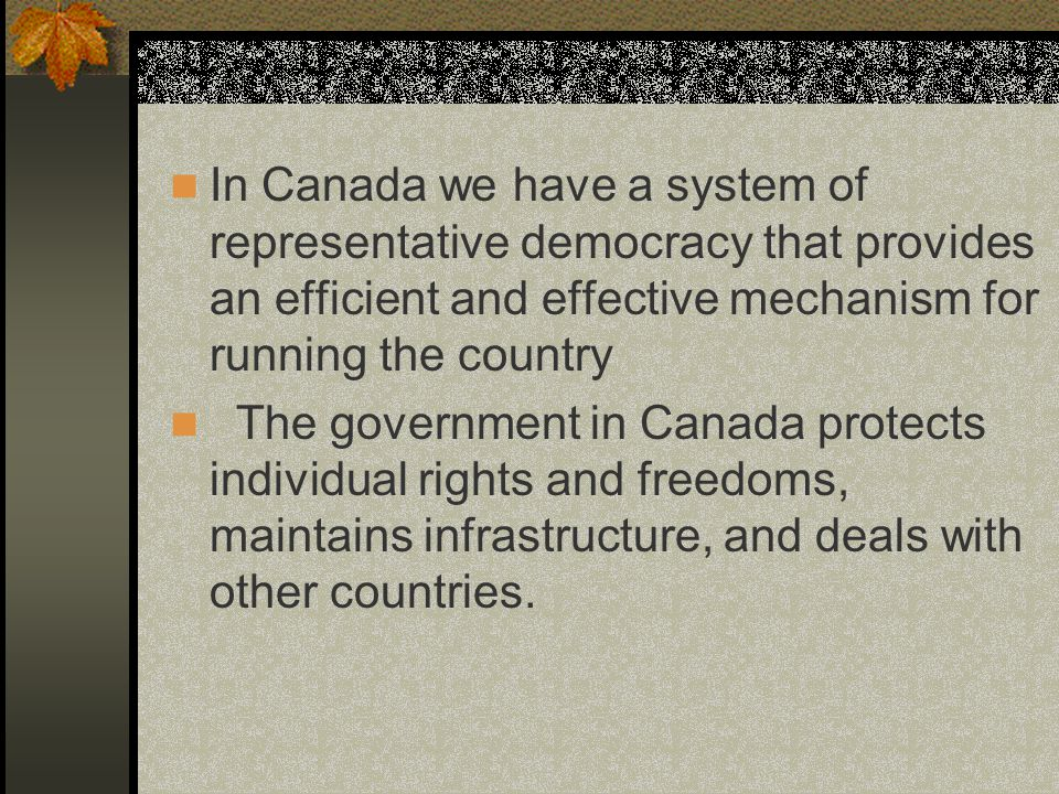 The Legislative Branch The House of Commons is where critical issues of Canada are debated.