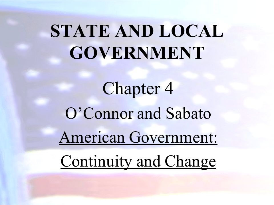 Governors Governors are the chief executive officers of the states.