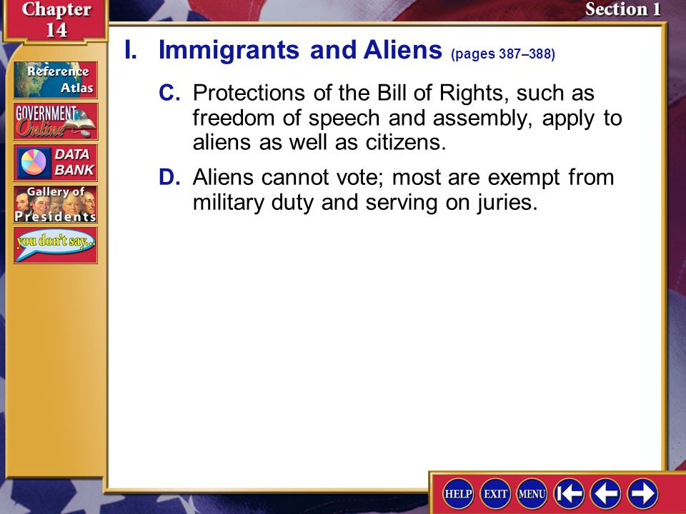 Chapter Assessment 4 1.How did the Constitution address the issue of citizenship.