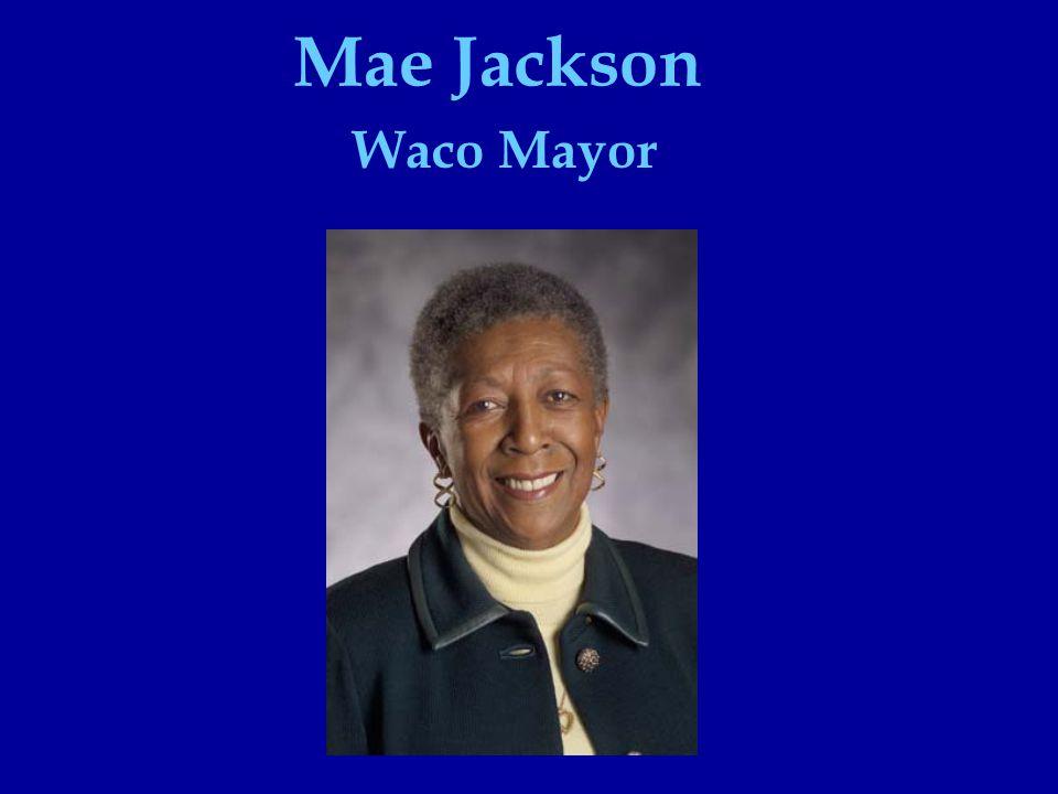 Waco Mayor Mae Jackson