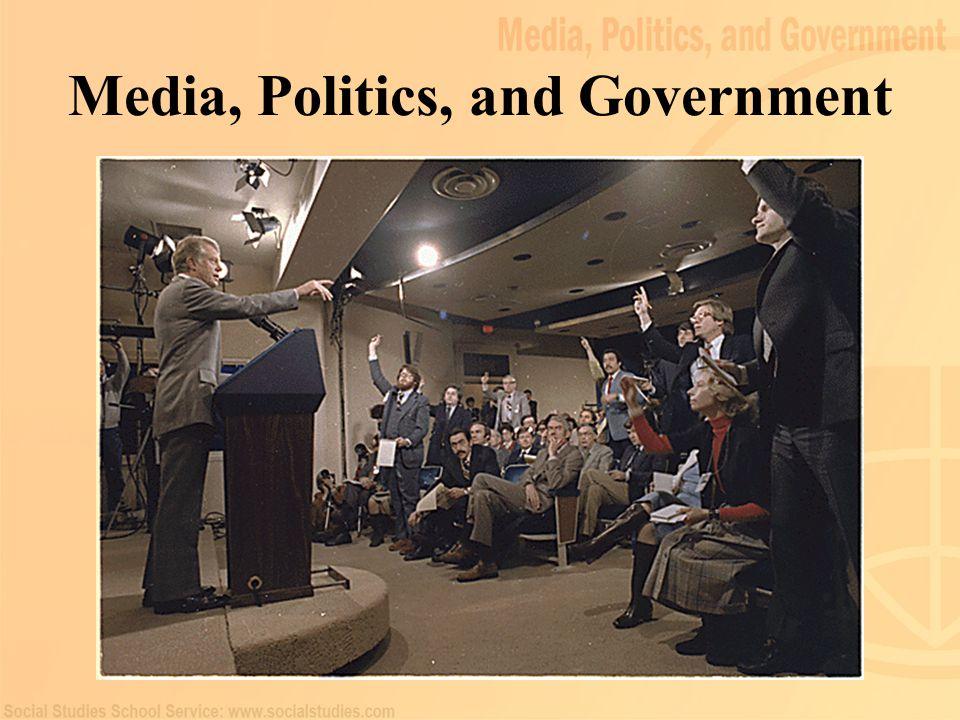 Media, Politics, and Government