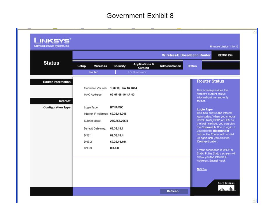 Government Exhibit 8