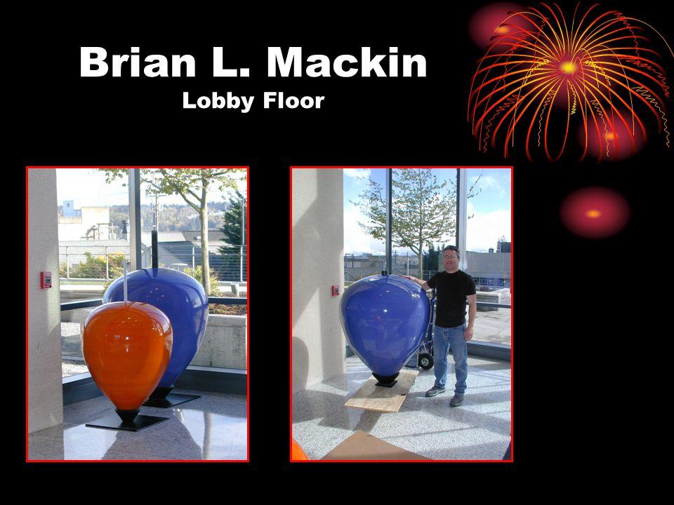 Brian L. Mackin Lobby Floor