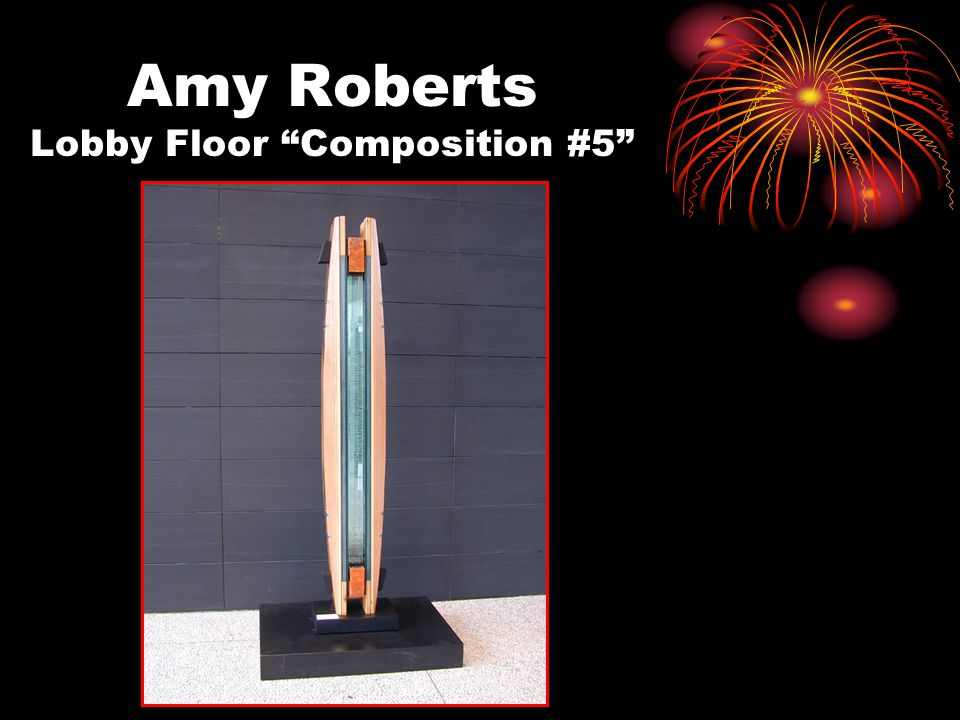 "Amy Roberts Lobby Floor ""Composition #5"""