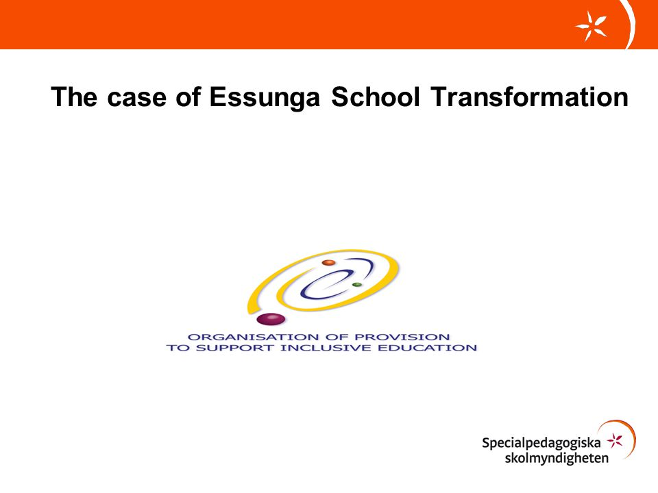 The case of Essunga School Transformation