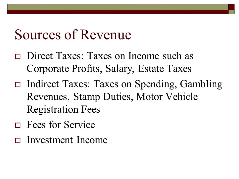 Laffer Curve  Revenue generated is not monotonically increasing in the tax rate.