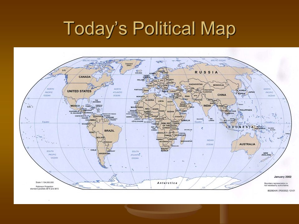 Today's Political Map
