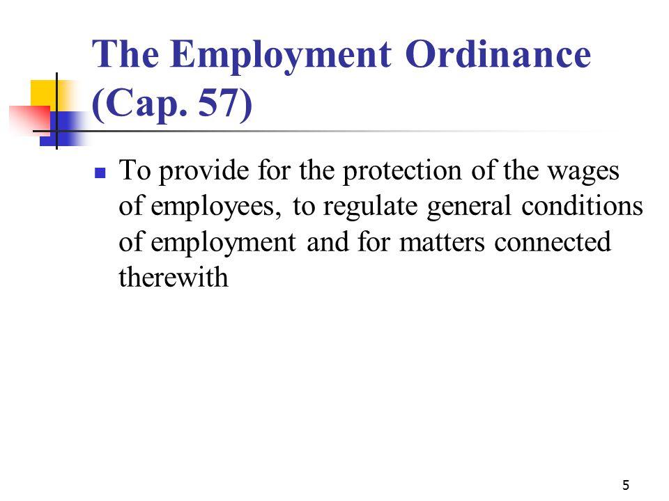 5 The Employment Ordinance (Cap.