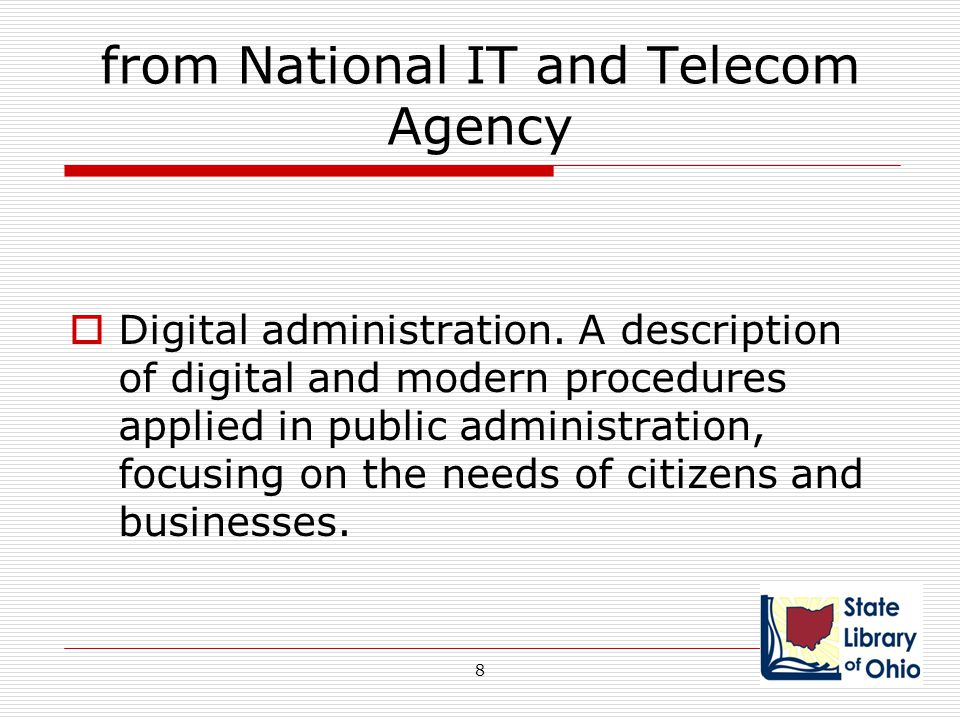 Federal Government Examples  www.usa.gov one portal www.usa.gov  A-Z index of all departments & agencies Government Printing Office  FDSys Federal Digital System  Doing business with GPO 29
