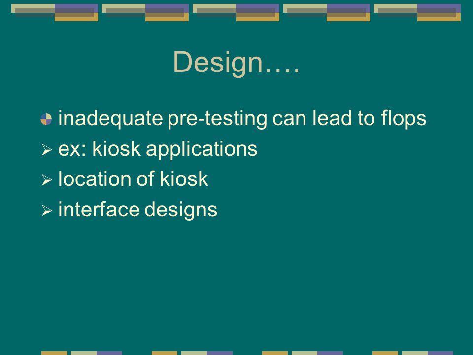 Design….