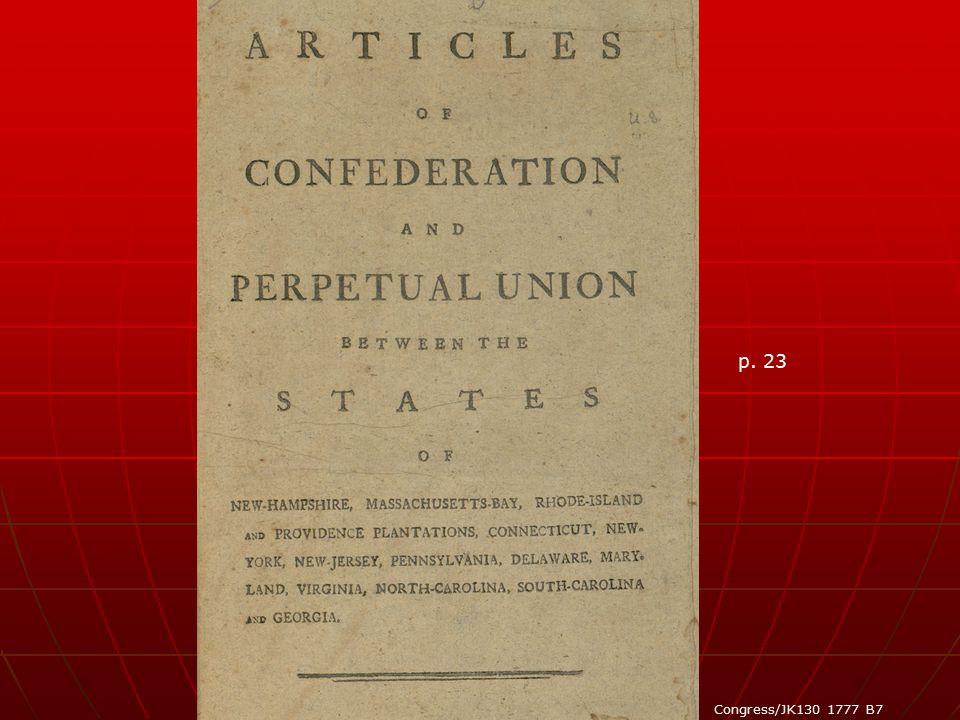 p. 23 Congress/JK130 1777 B7