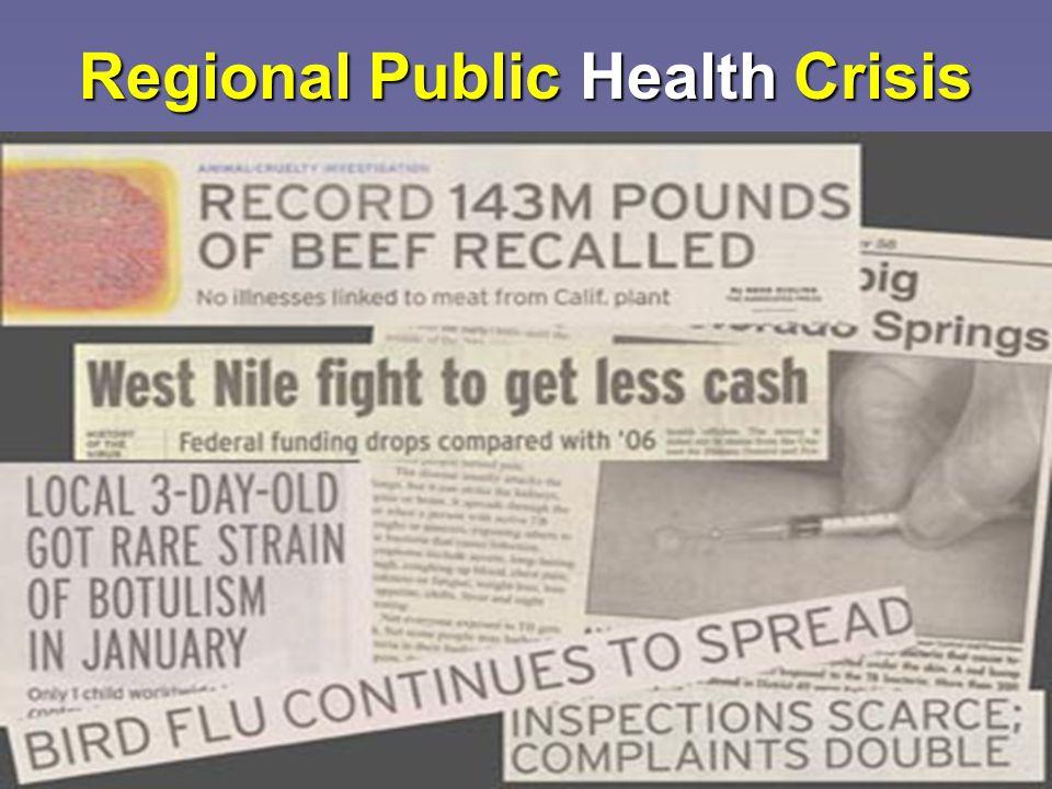 13 Regional Public Health Crisis