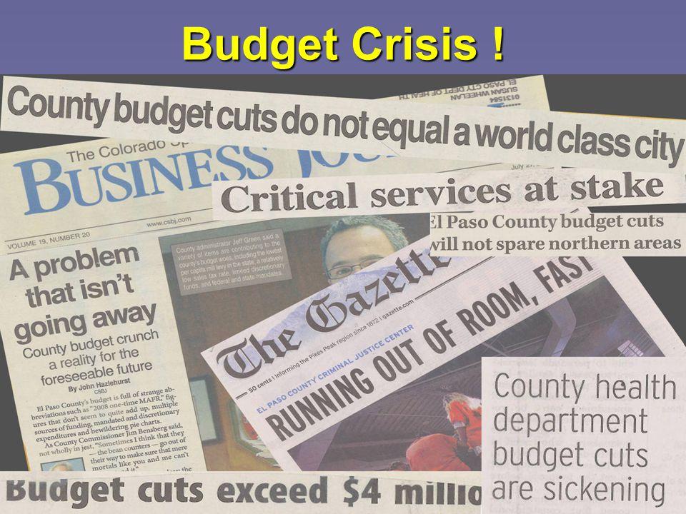 17 Budget Crisis !