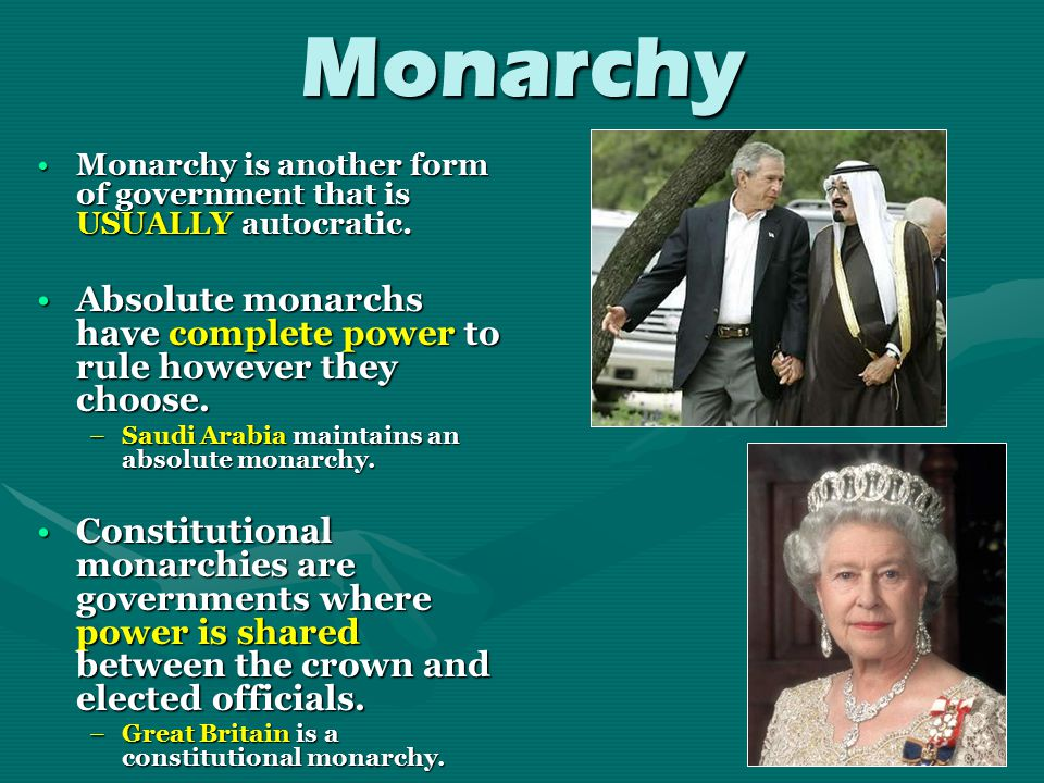 Dictatorship Dictators gain their power through fear and/or force.Dictators gain their power through fear and/or force.