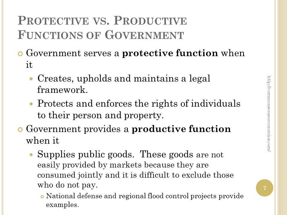 P ROTECTIVE VS.