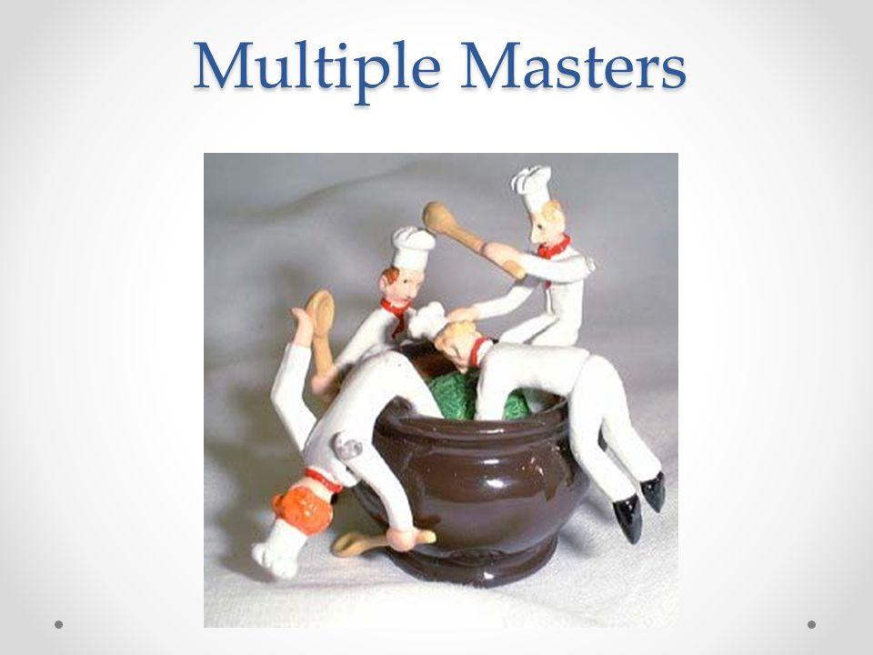 Multiple Masters