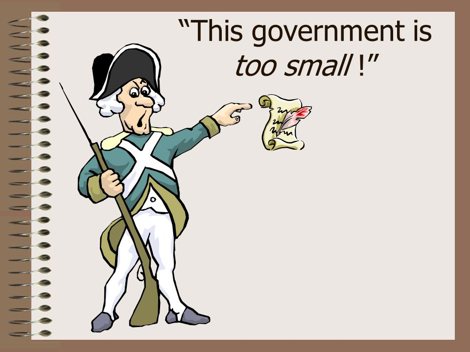This government is too small !
