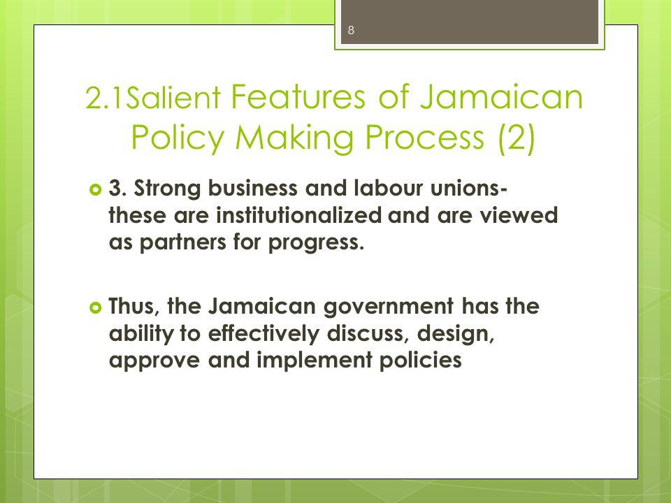 2.2 Policy Framework (1) 9