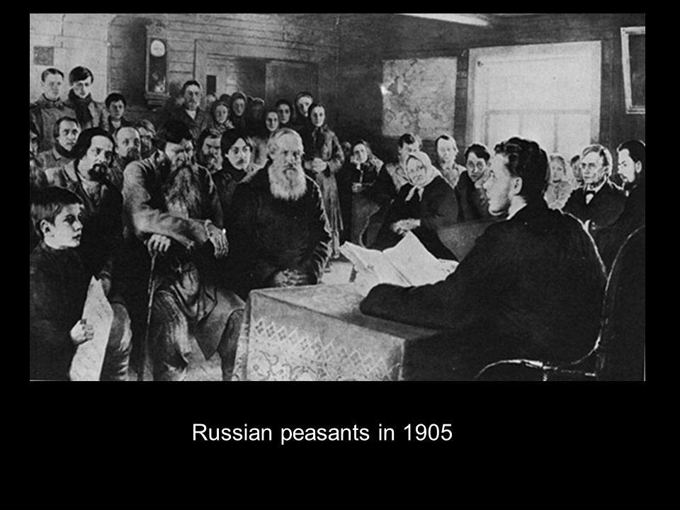 Russian peasants in 1905
