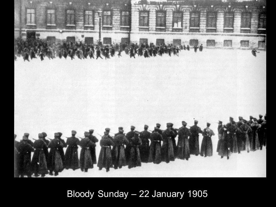 Bloody Sunday – 22 January 1905