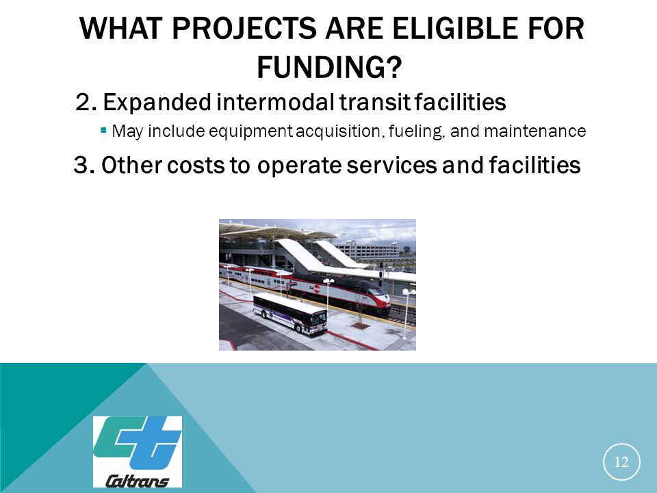 WHAT PROJECTS ARE ELIGIBLE FOR FUNDING. 2.