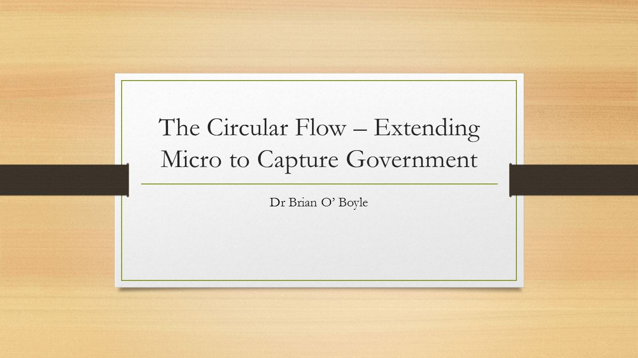 Micro foundations The cumulative effects of the micro theory of choice are supposedly optimal All individuals choose to allocate their own resources optimally.