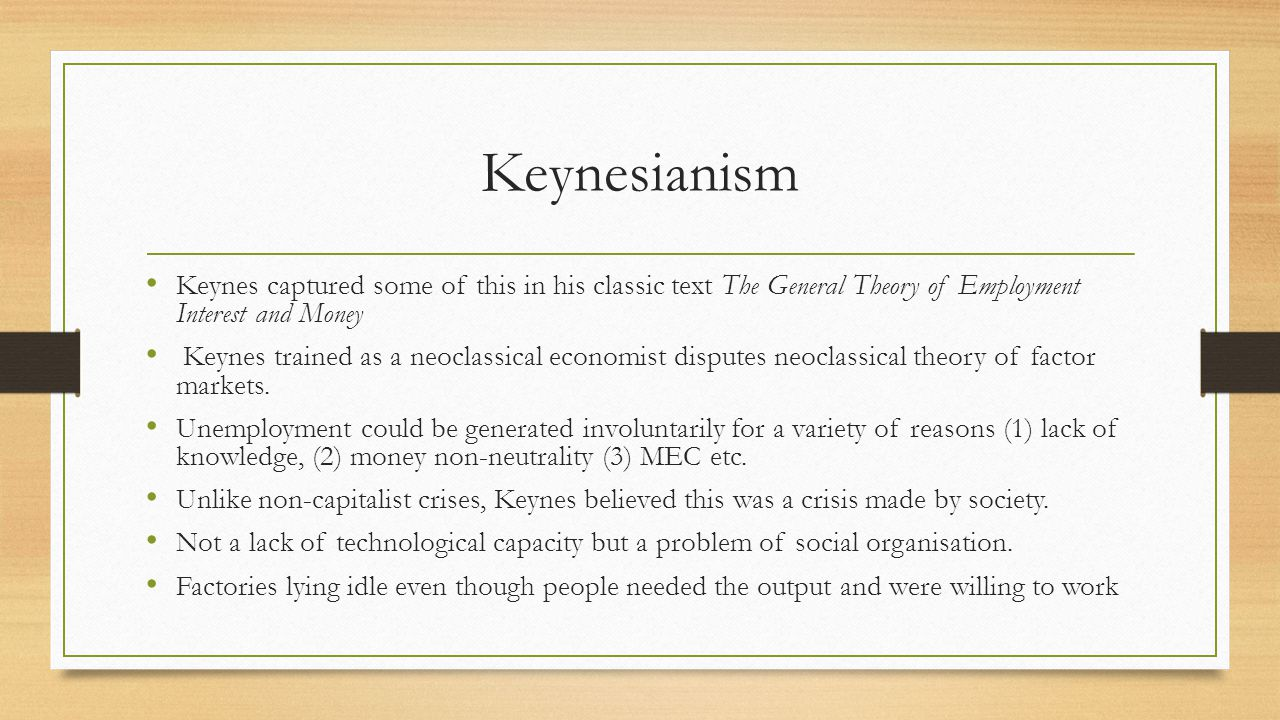 Rising Government Different capitalist societies solved the crisis in different ways.