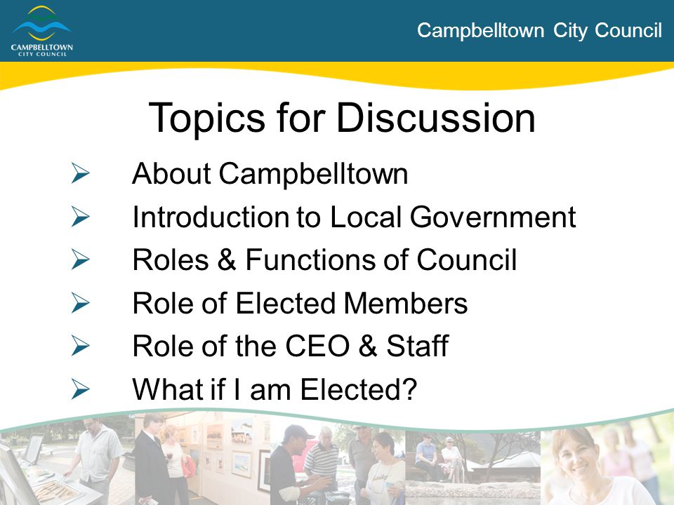 Campbelltown City Council About Campbelltown  Established as District Council on 2 March 1868  Proclaimed a City on 6 May 1960  Estimated population (at 30 June 2013) was 50,893 Further demographic information available at: http://www.campbelltown.sa.gov.au/profile http://www.campbelltown.sa.gov.au/profile