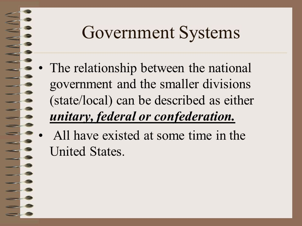 Group Assignment You will be placed in one of three groups based on the type of governments we have studied this unit.