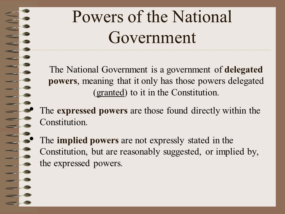 How the Power is Divided The division of power varies in different federal systems.