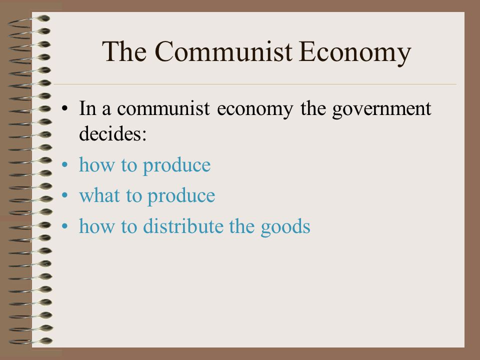 Communism the Idea Karl Marx interpreted all human history as a class struggle between the workers and the owners. Communism believes that there is no