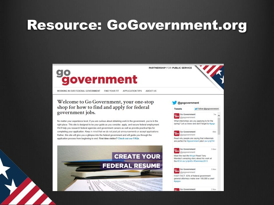 Resource: GoGovernment.org