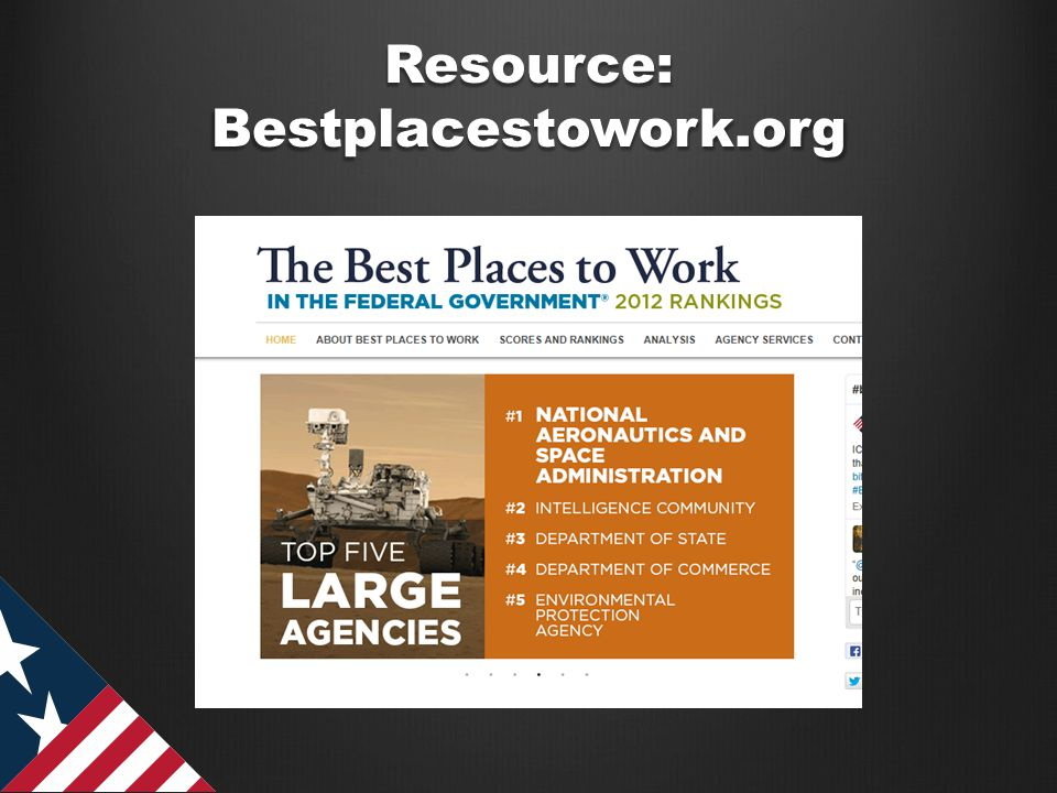 Resource: Bestplacestowork.org