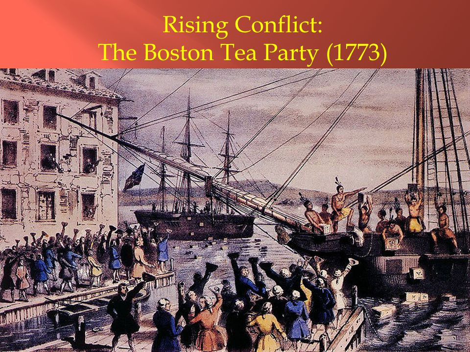 Rising Conflict: The Boston Tea Party (1773)