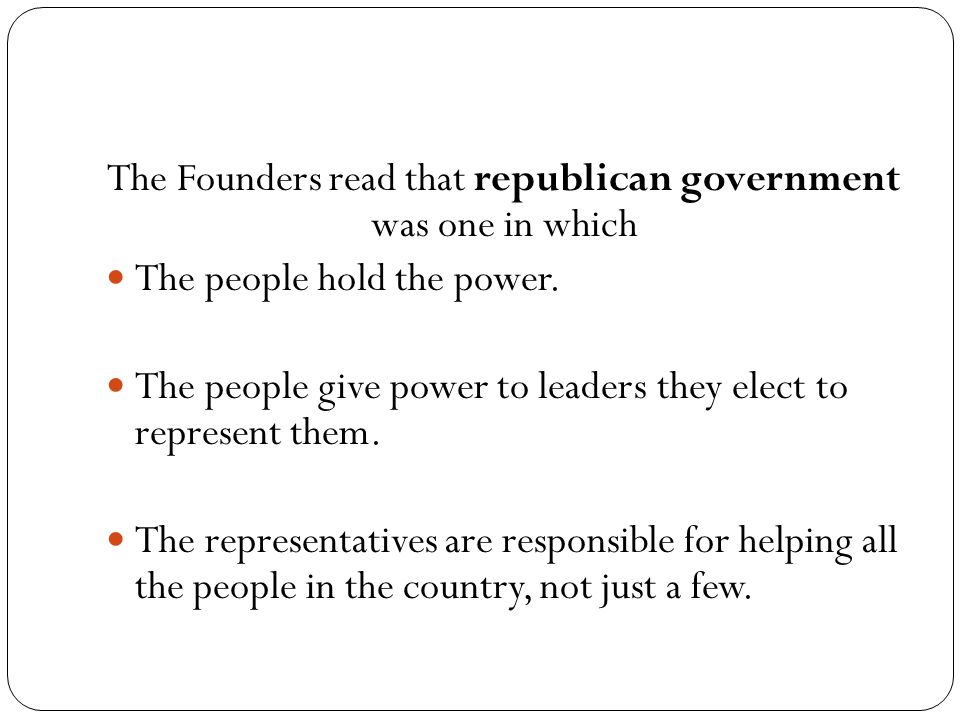 What is a constitutional government.