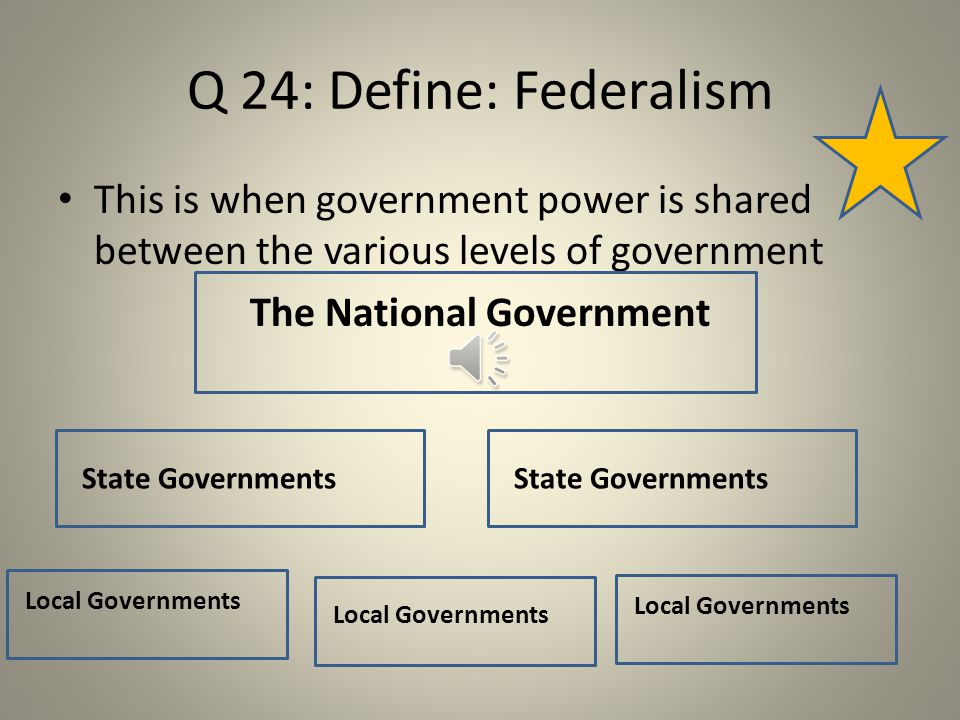 Q 23: What are some of the major checks and balances that come up.