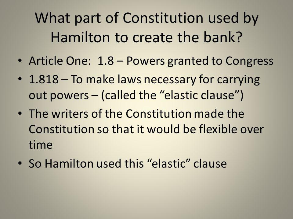 Why did Jefferson oppose Hamilton's plan.