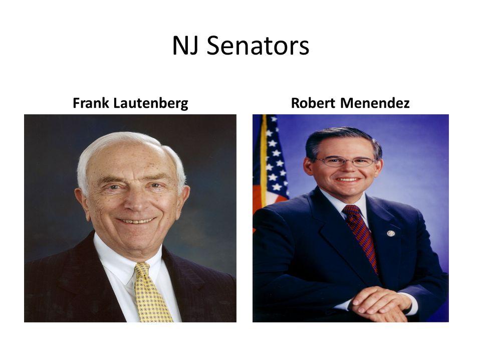 NJ Senators Frank LautenbergRobert Menendez
