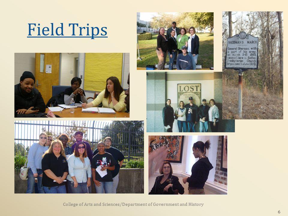 6 Field Trips