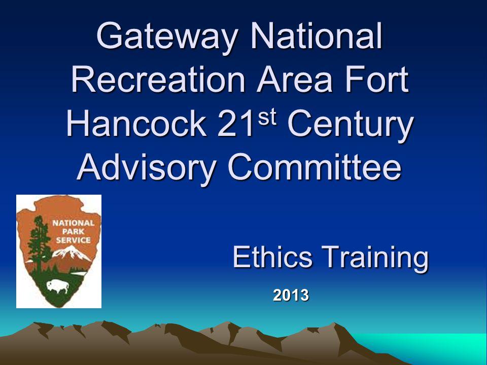 Jeff Davies Ethics Program Manager Deputy Ethics Counselor National Park Service (202) 354-1981 Jeffrey_davies@nps.gov