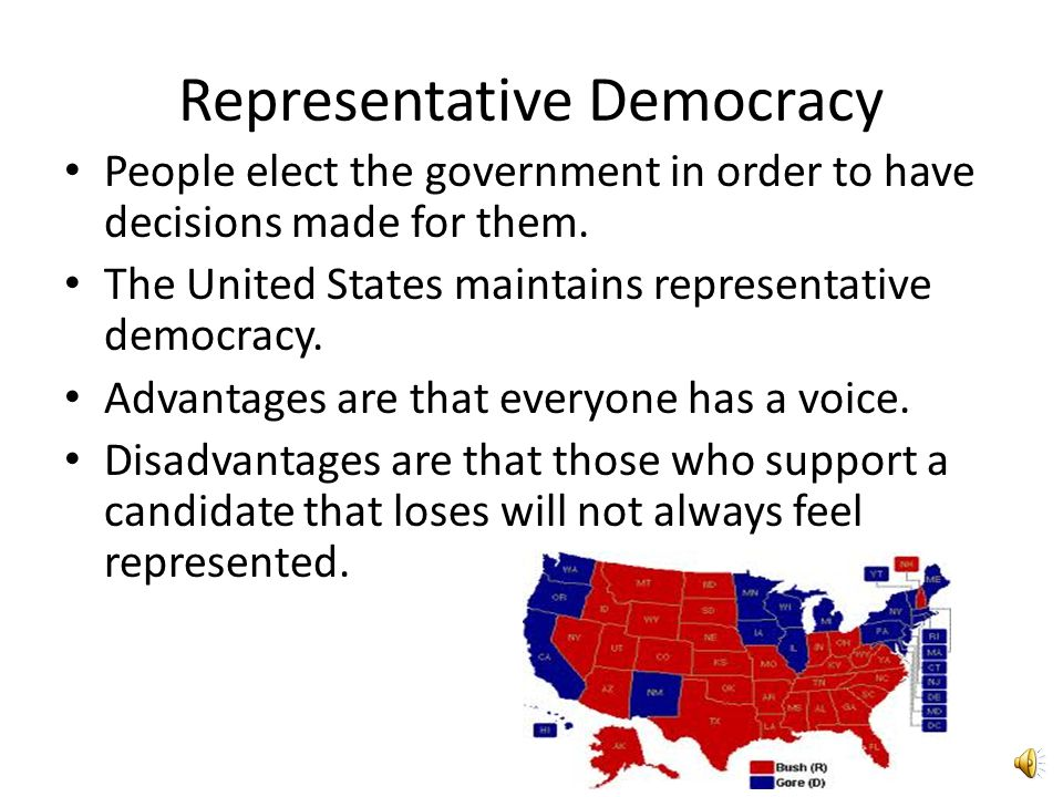 Democracy Originated in ancient Greece A system of government where power comes from the people. Two types of democracy are Representative Democracy a
