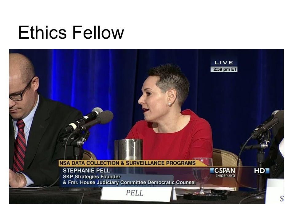 Ethics Fellow